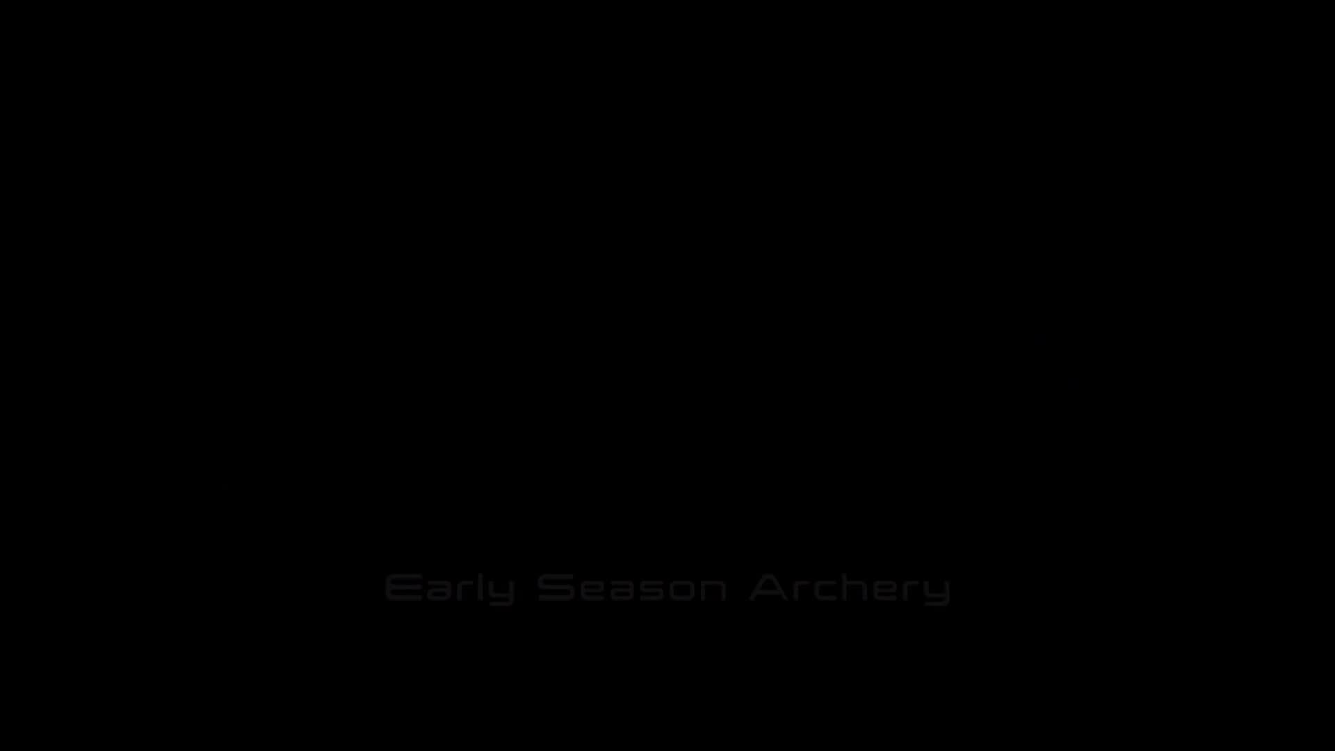 Early Season Archery - 2018
