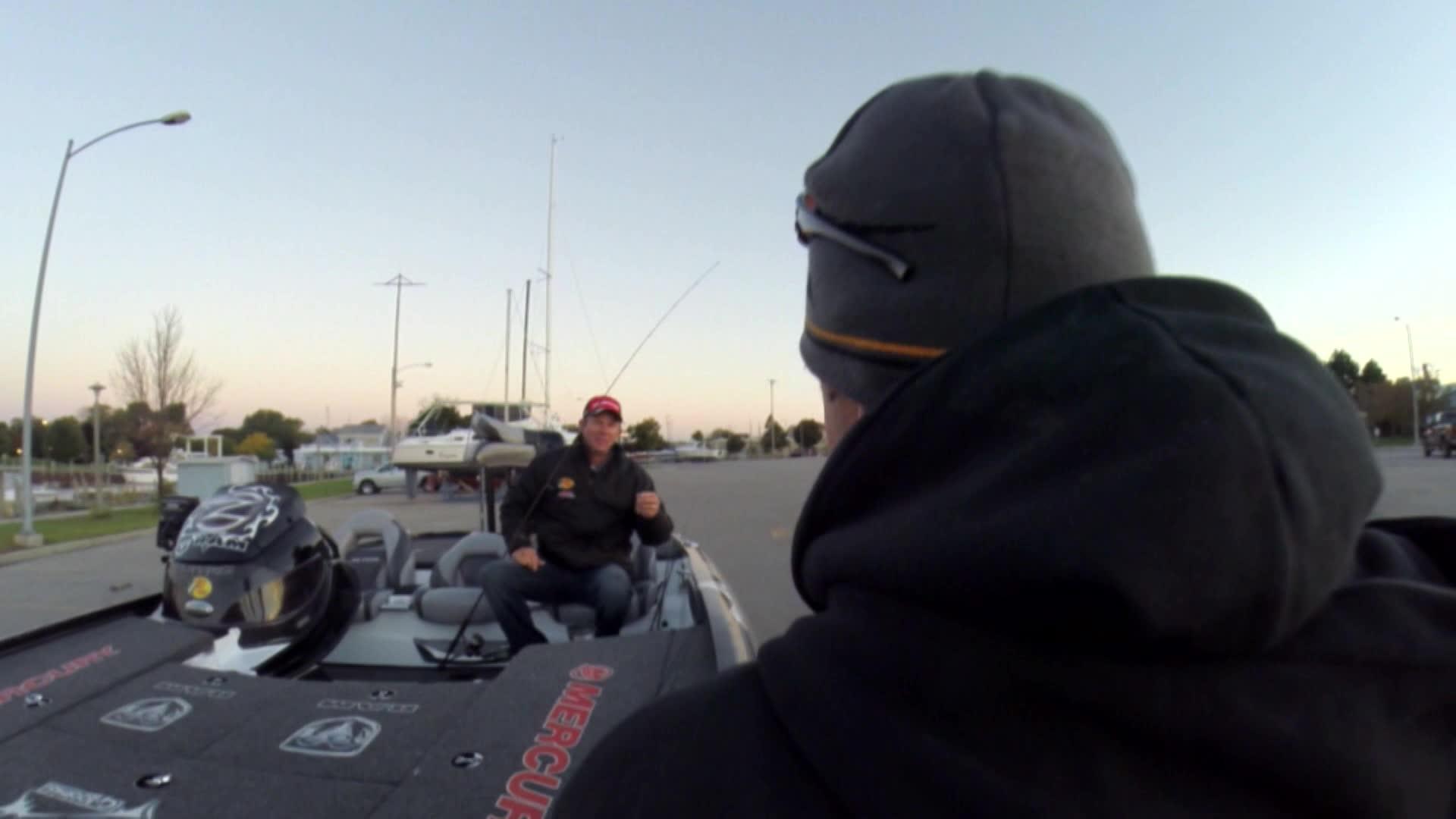 Zona's Awesome Fishing Show - VanDam - Lake Huron