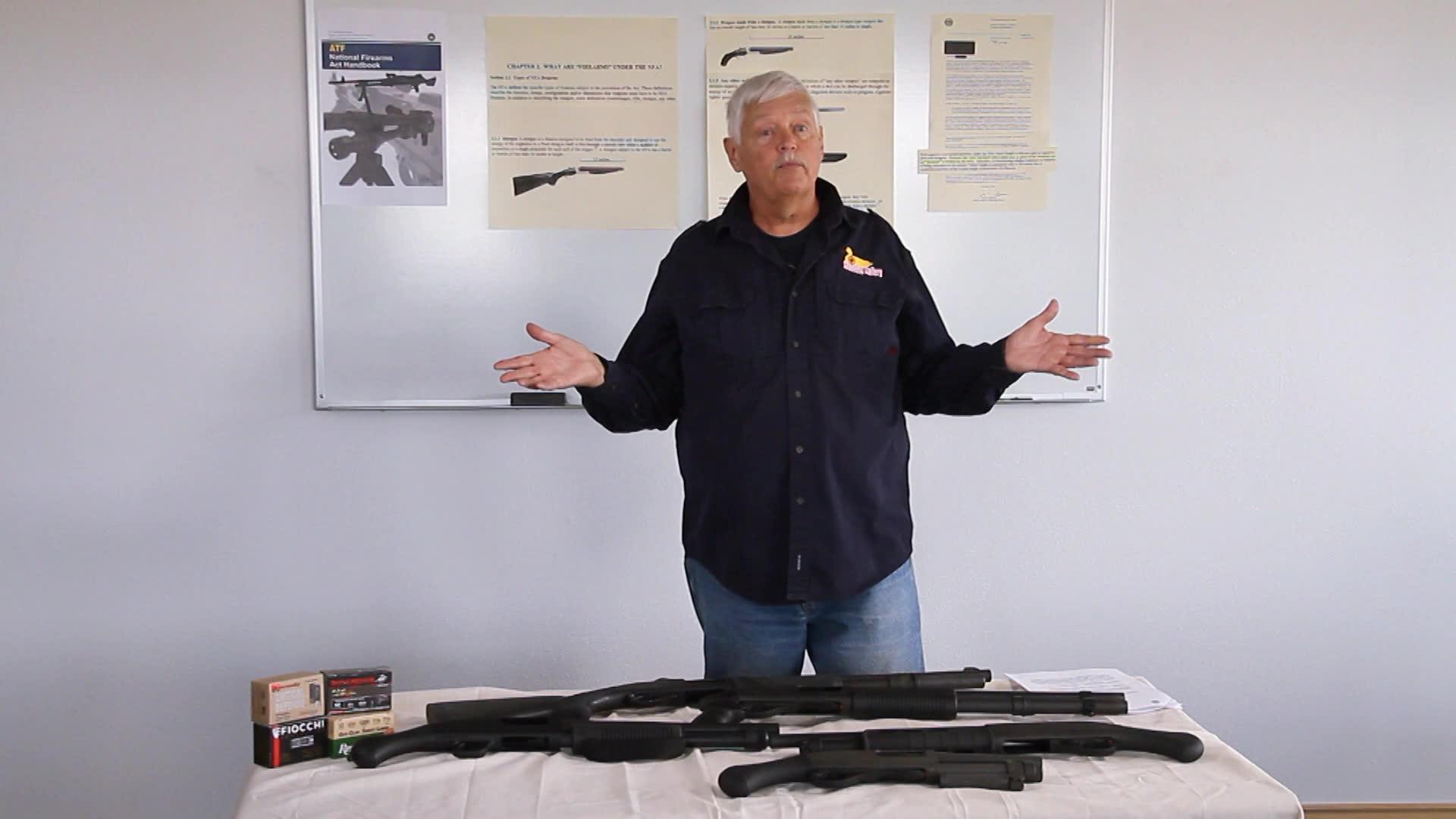 Short Barreled Non-Shotgun